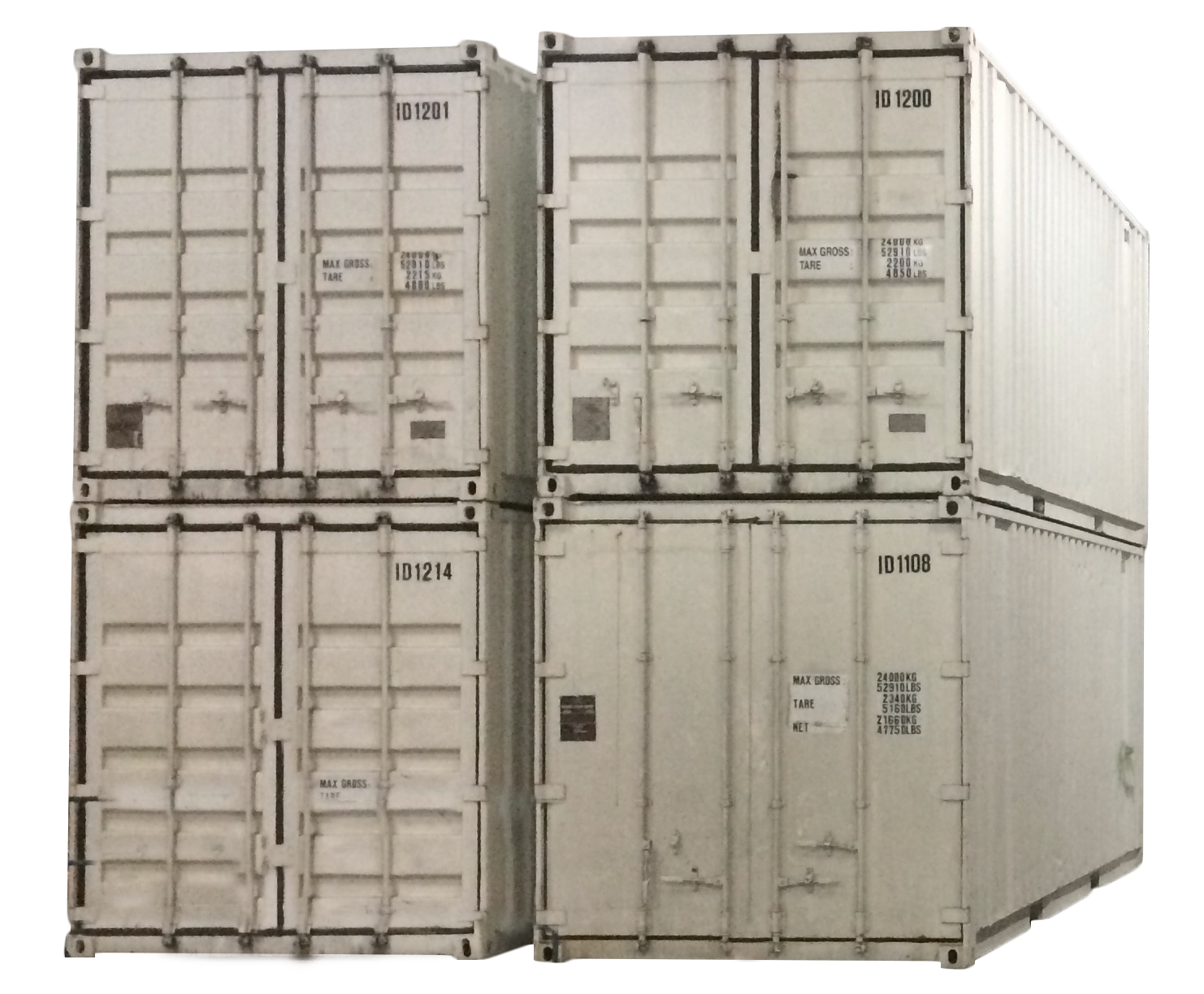 stockage container